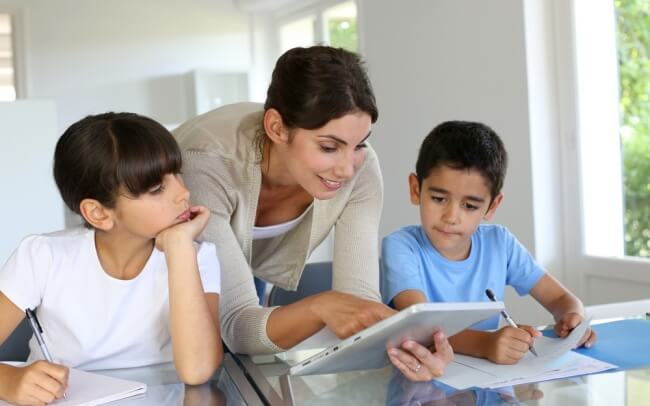 teaching kids with technology